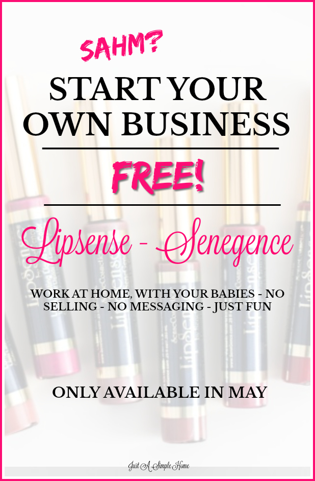 Start your own LipSense business as a stay at home mom and work around your babies. You can create your own hours, no seeling involved, no messaging your friends and family. So much fun! #workfromhome #sahm #homebusiness #mom