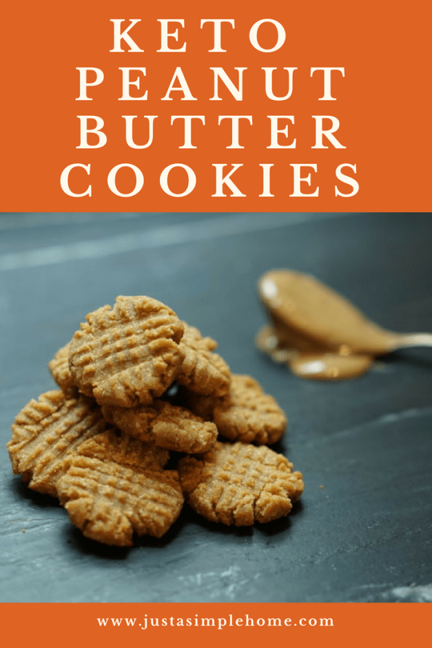 Keto Peanut Butter Cookies! These are so delicious! An easy keto friendly cookie recipe your whole family will love! #keto #ketogenic #ketorecipes #mealplan