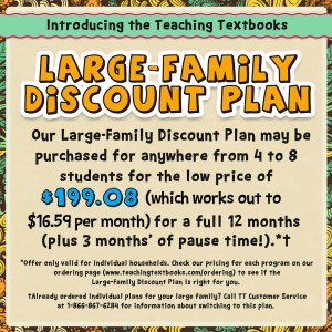 Teaching Textbook Family Plan