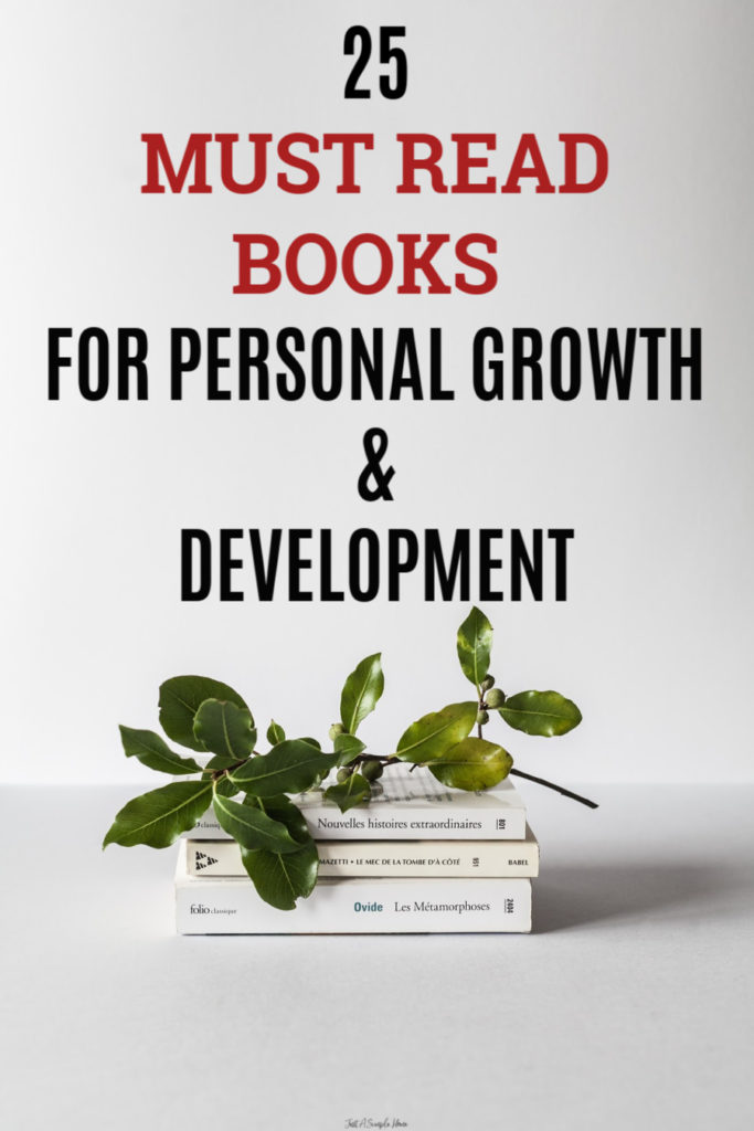 25 Must read Books for Personal Growth and Development in 2019! If you are looking for some personal growth books or self help books to improve your business or improve your life, here is a great list! #personalgrowth #personaldevelopment #booklist #directsales #networkmarketing #bestbooks2019