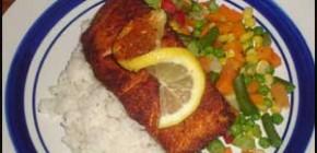 Cajun Salmon Recipe