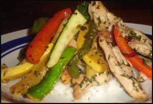Herb Chicken Stir Fry