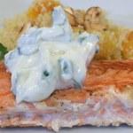 Recipe: Cashew Salmon & Apricot Couscous