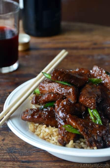 PF Changs Mongolian Beef