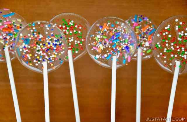 Easy Homemade Lollipops - Just a Taste