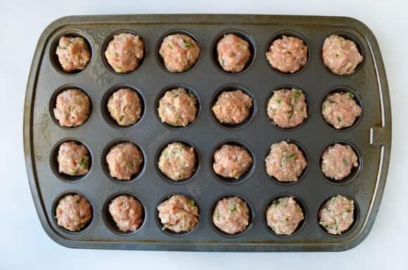 Al horno Orange pollo Albóndigas receta de justataste.com