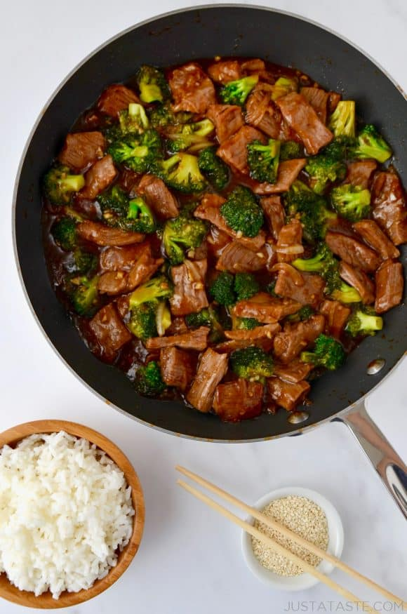 Easy Beef And Broccoli Just A Taste