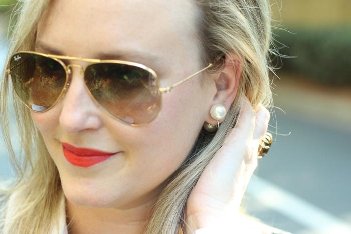 Vintage Double Pearl Earrings