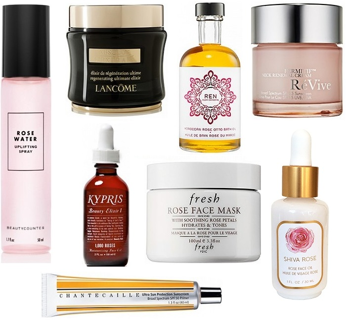 Rose Facial Products
