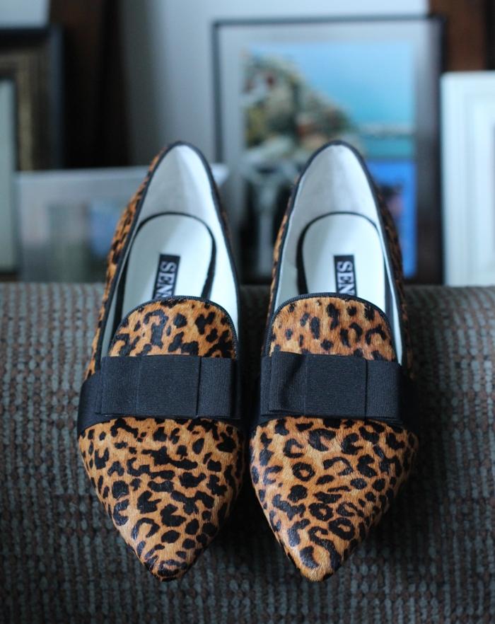 Senso Freja Leopard Slippers
