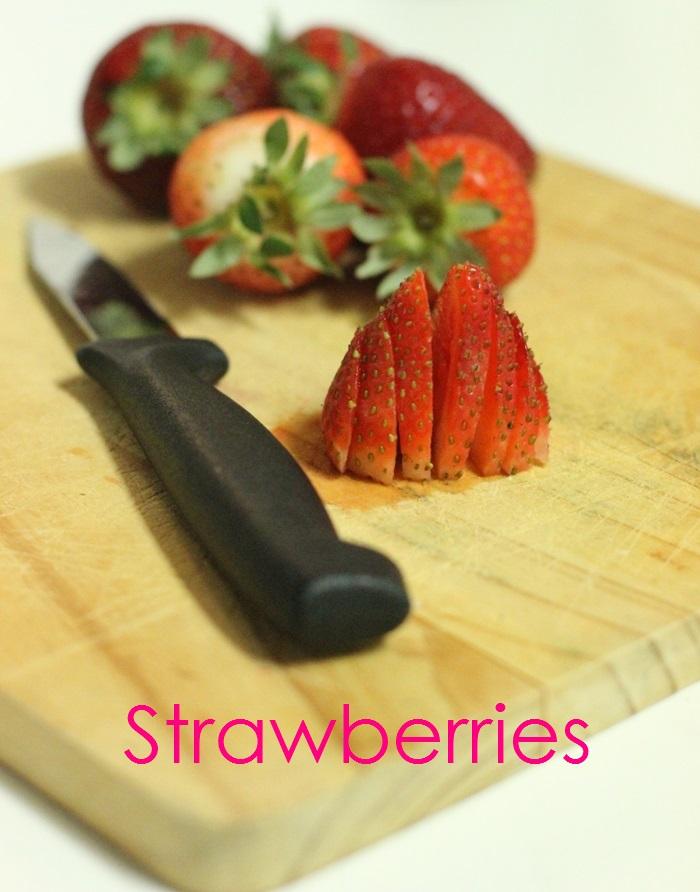 Superfood Salad Strawberries