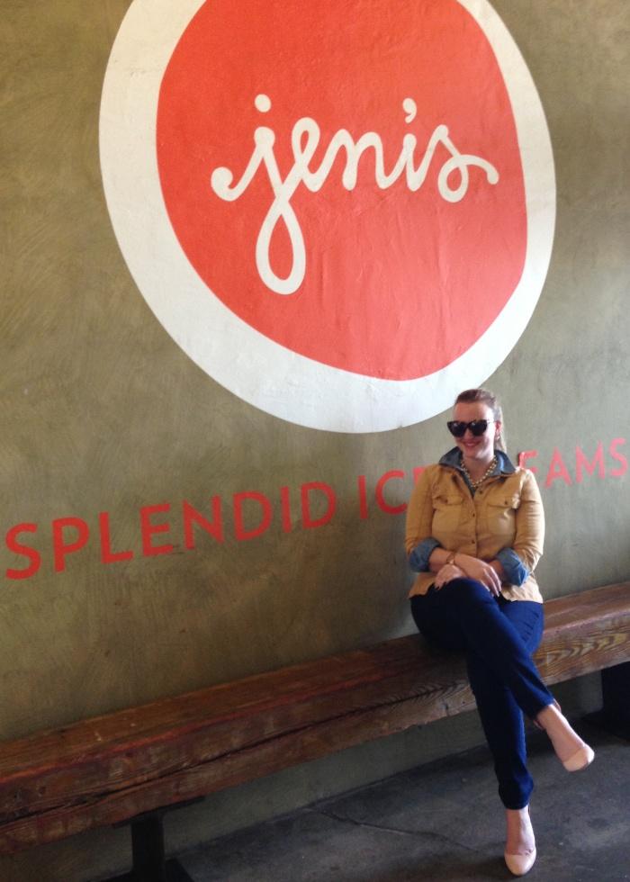 Jenna at Jeni's Ice Cream