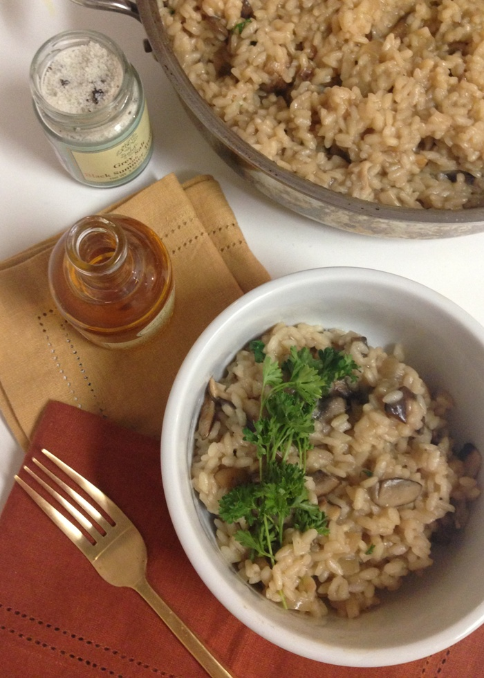 Truffle Risotto with Mushrooms