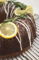 Lemon & Rosemary Bundt Cake