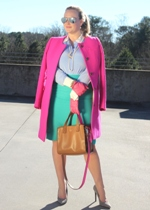 Bright Fuchsia Coat