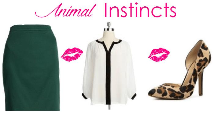 JCrew No. 2 Pencil Skirt Animal Instincts