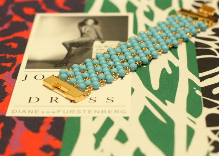 DVF Turquoise Bracelet