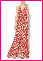 Karina Grimaldi Noah Print Maxi Dress