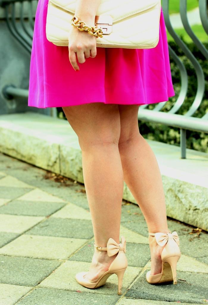 JCrew Bow Heels