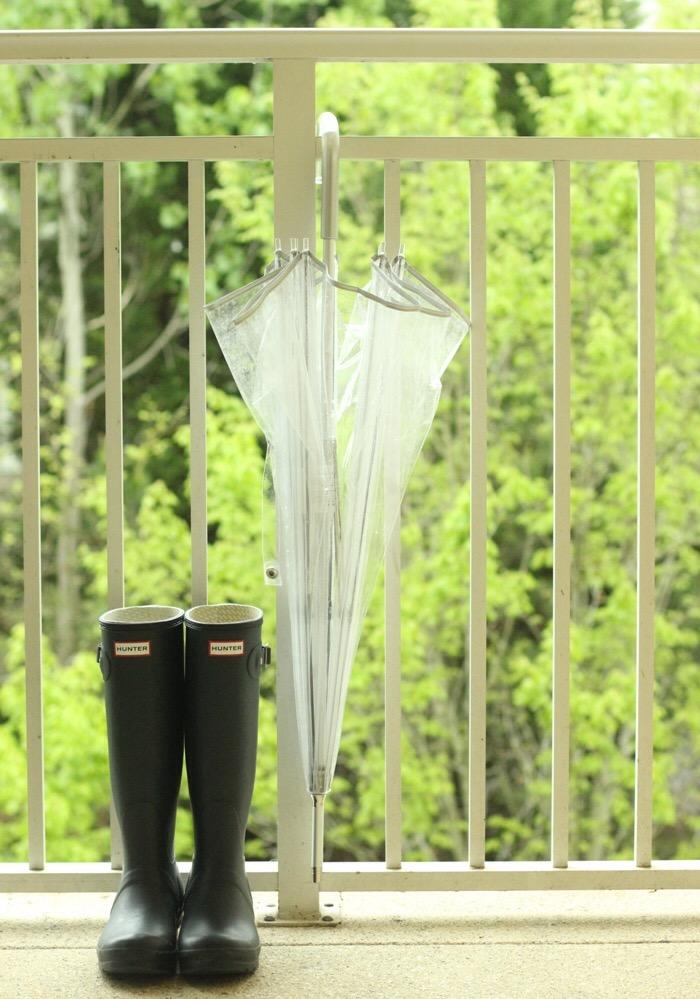 Rainy Day Supplies Hunter Rain Boots Totes Clear Umbrella