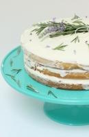 Lavender Rosemary Honey Cake
