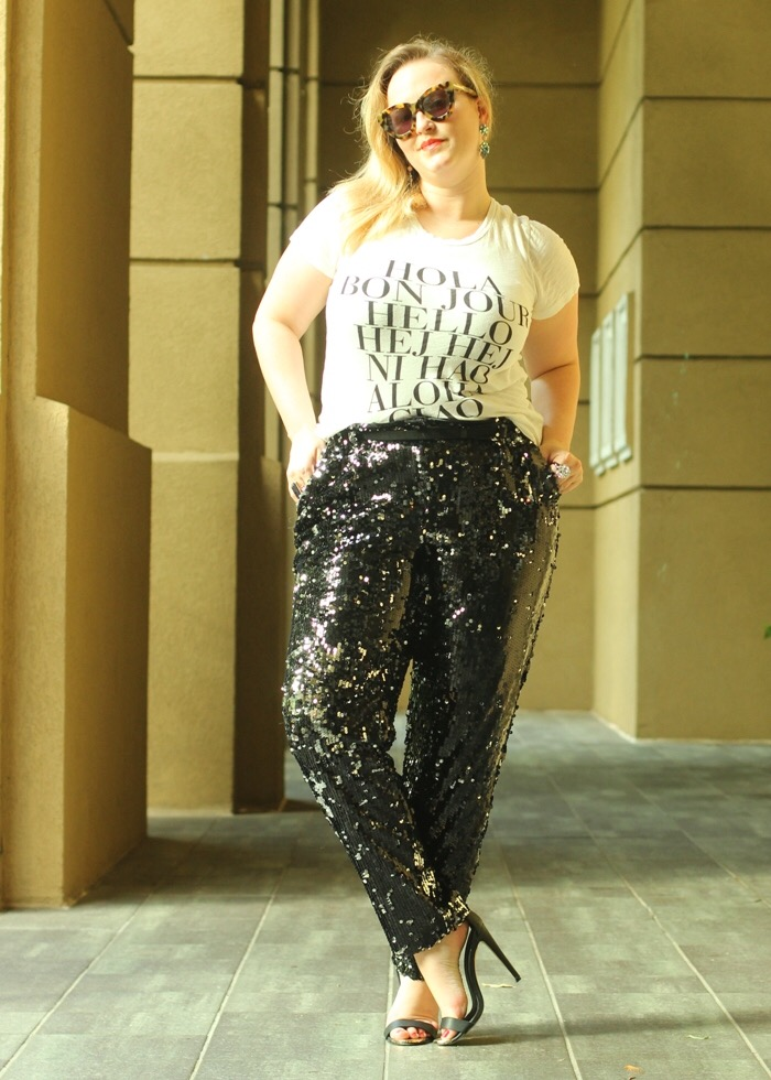 Milly Sequin Pants