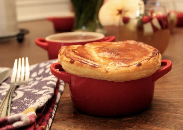 Le Creuset Mini Cocotte Chicken Pot Pie