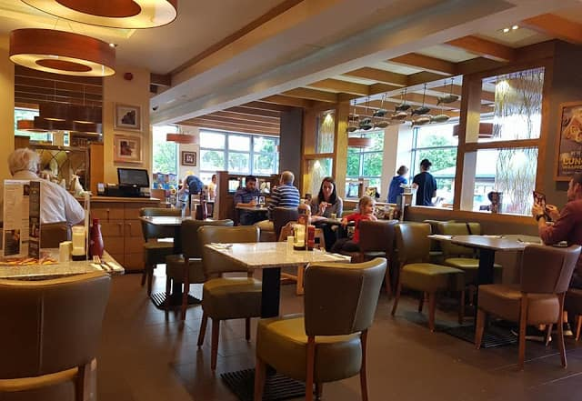 Harvester Nottingham Castle Marina – A Review