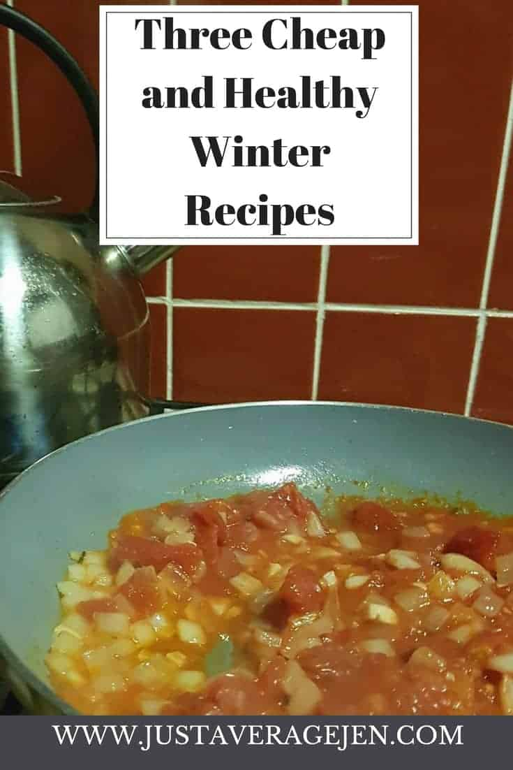 Guest Post – Three Cheap, Healthy, Winter Recipes.