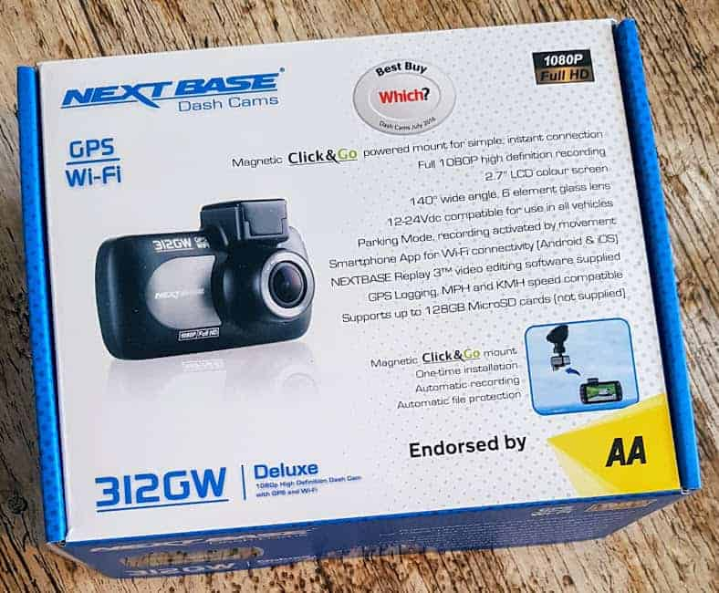 Next Base 312GW Dash Cam Giveaway