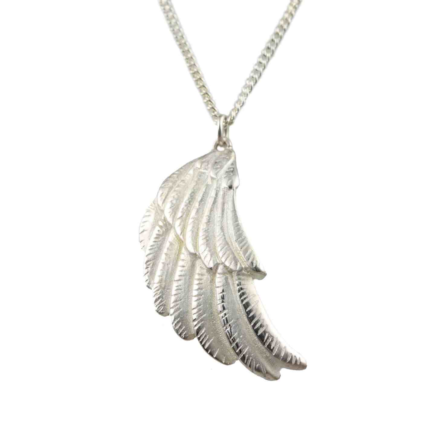 Mother's Day Giveaway for a Sterling Silver Wing Pendant Necklace worth £109