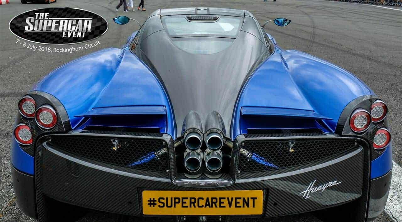 The Supercar Event – Fun for the family and a Giveaway!