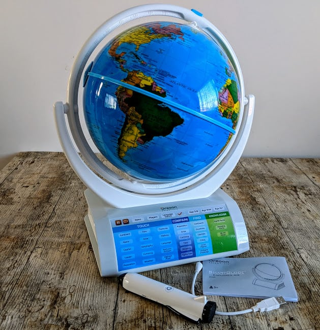 Oregon Scientific Smart Globe Explorer AR – A Review
