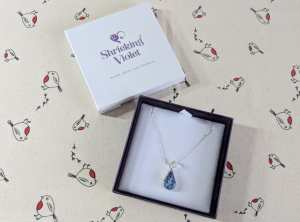 shrieking violet necklace