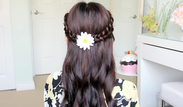 Crochet Loop Braid Hairstyle