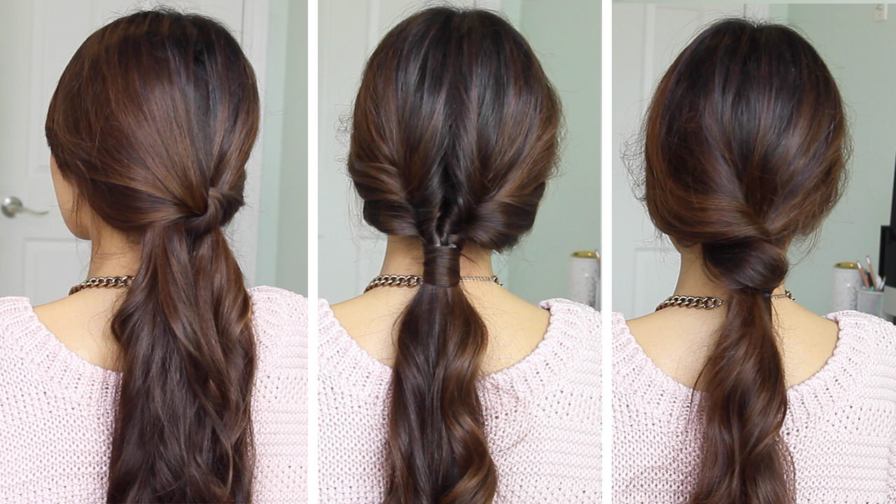 Running Late Ponytail Hairstyles · Bebexo Lifestyle Blog