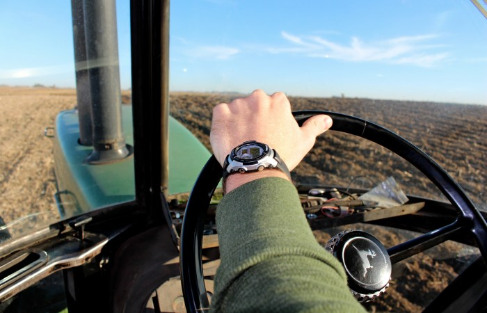 Tractor dates.