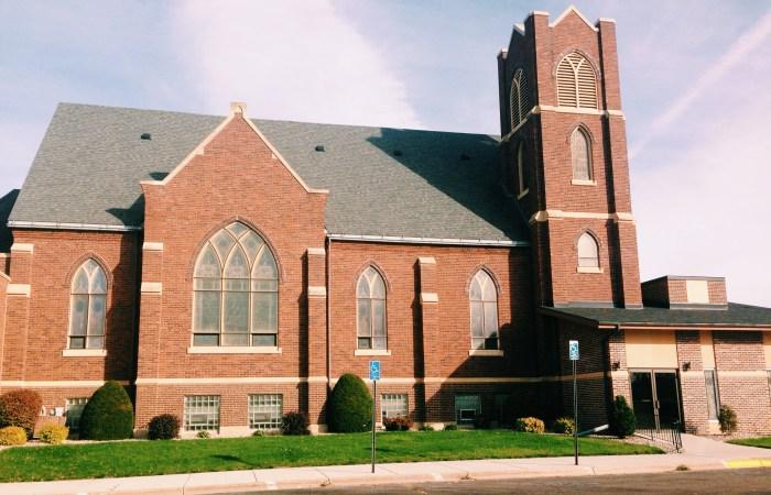 The church across the street.