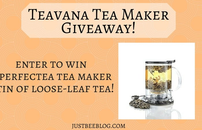 Teavana Perfectea Tea Maker Giveaway!