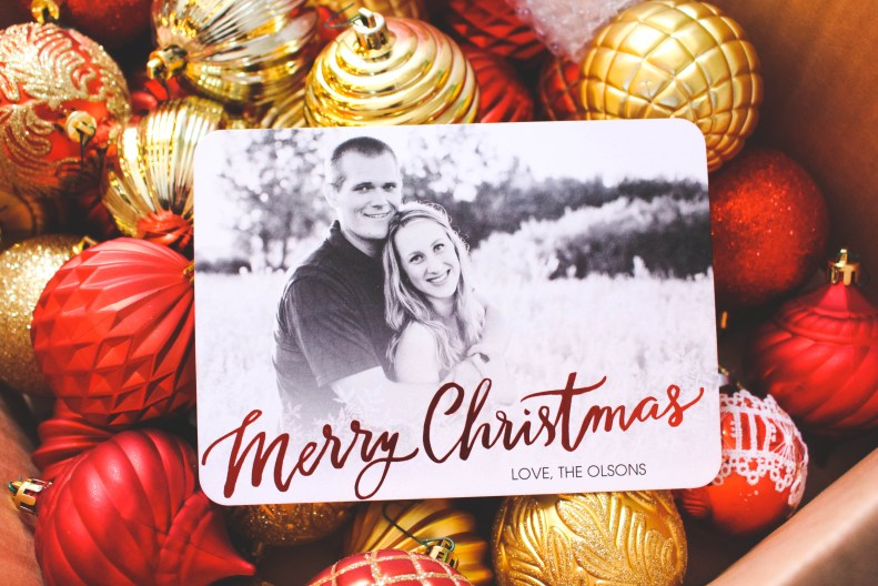 Shutterfly Christmas cards 2015