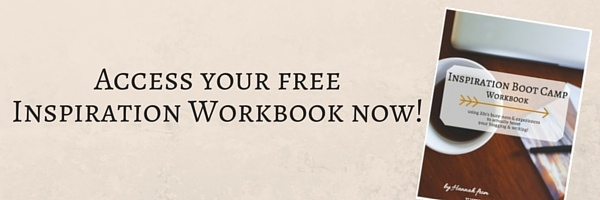 Access your free Inspiration Workbook now!