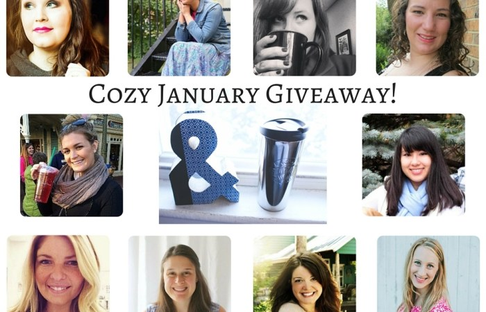 Cozy January Giveaway – Starbucks Thermos & Vintage Book Letter!