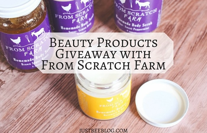 From Scratch Farm Beauty Products (+ a giveaway!)