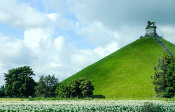 The Battle of Waterloo in Belgium + The Hougoumont Farm