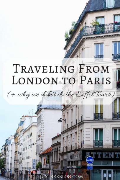 Traveling from London to Paris - Just Bee blog