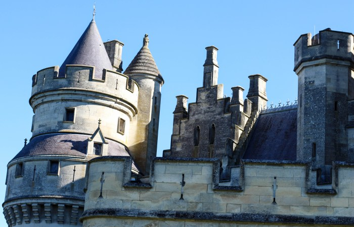 Chateau de Pierrefonds: a French Castle