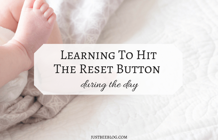 Learning to Hit the Reset Button During the Day