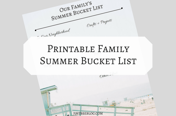 picture regarding Bucket List Printable Template referred to as Summertime Bucket Record (+ a printable template for your self!)