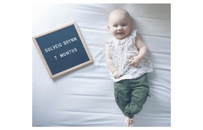 Sophie's 7 Month Update