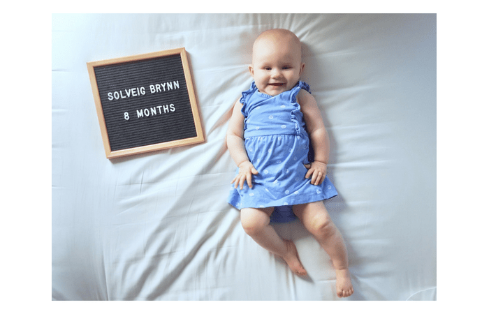 Sophie's 8 Month Update